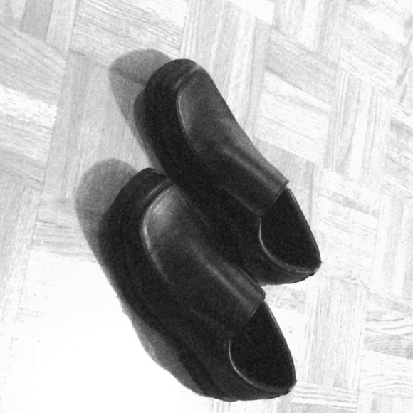 Other - Boys black shoes